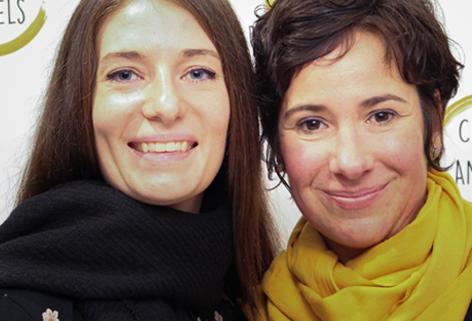 Sibylle und Nadine