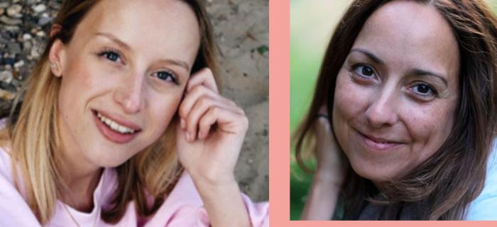 Kathi und Isabelle